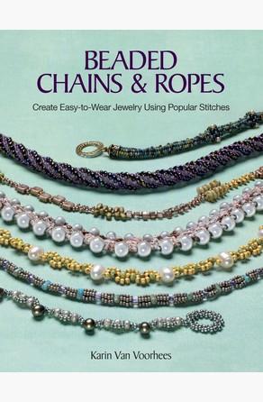 beaded chains ropes de karin voorhees bajalibros