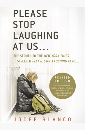 please stop laughing at me On 2/28 sherri wrote: i really enjoy reading memoirs, so i picked this one up the author tells her story of being horribly bullied throughout her.